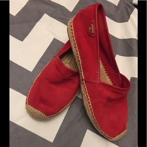 Tori Burch Espadrilles size 8.5 in used condition